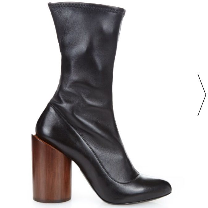 Givenchy Wooden Heel Priveboots Brand New In Box Products In
