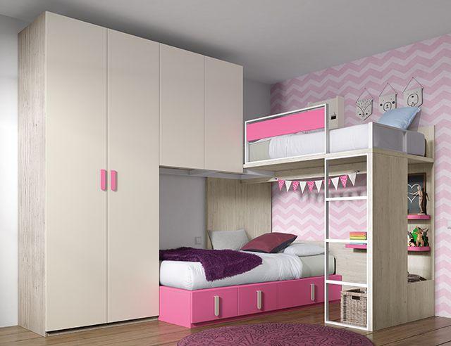 Literas que se adaptan a tu habitaci n encu ntralo en - Literas juveniles modernas ...