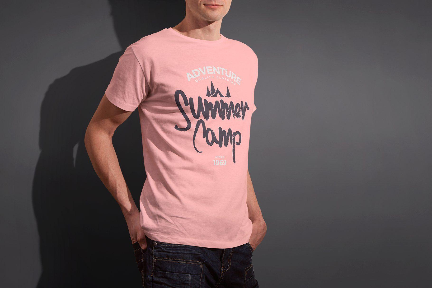 Download Mens Crew Neck T Shirt Mock Up T Shirt Printing Company Mens Crew Neck Blank T Shirts