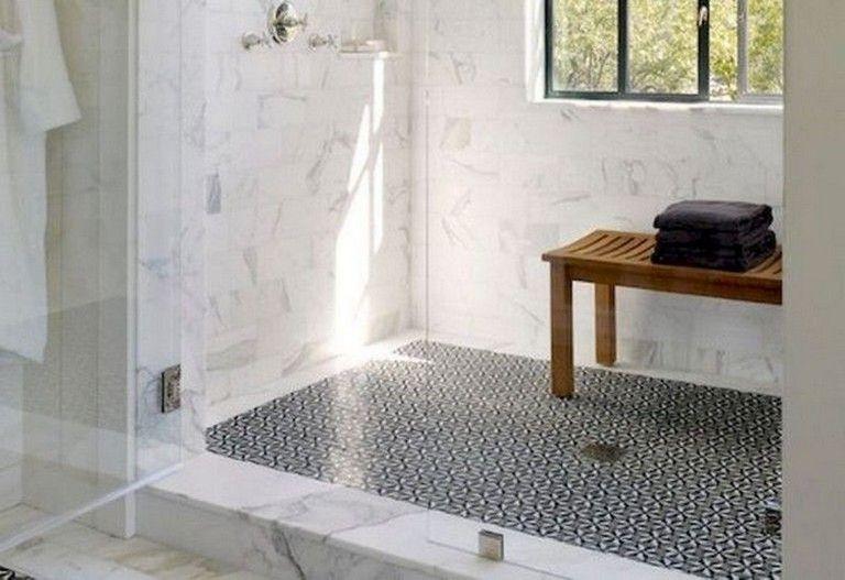 47+ Best Rustic Farmhouse Bathroom Flooring Ideas ... on Rustic Farmhouse Bathroom Tile  id=29413
