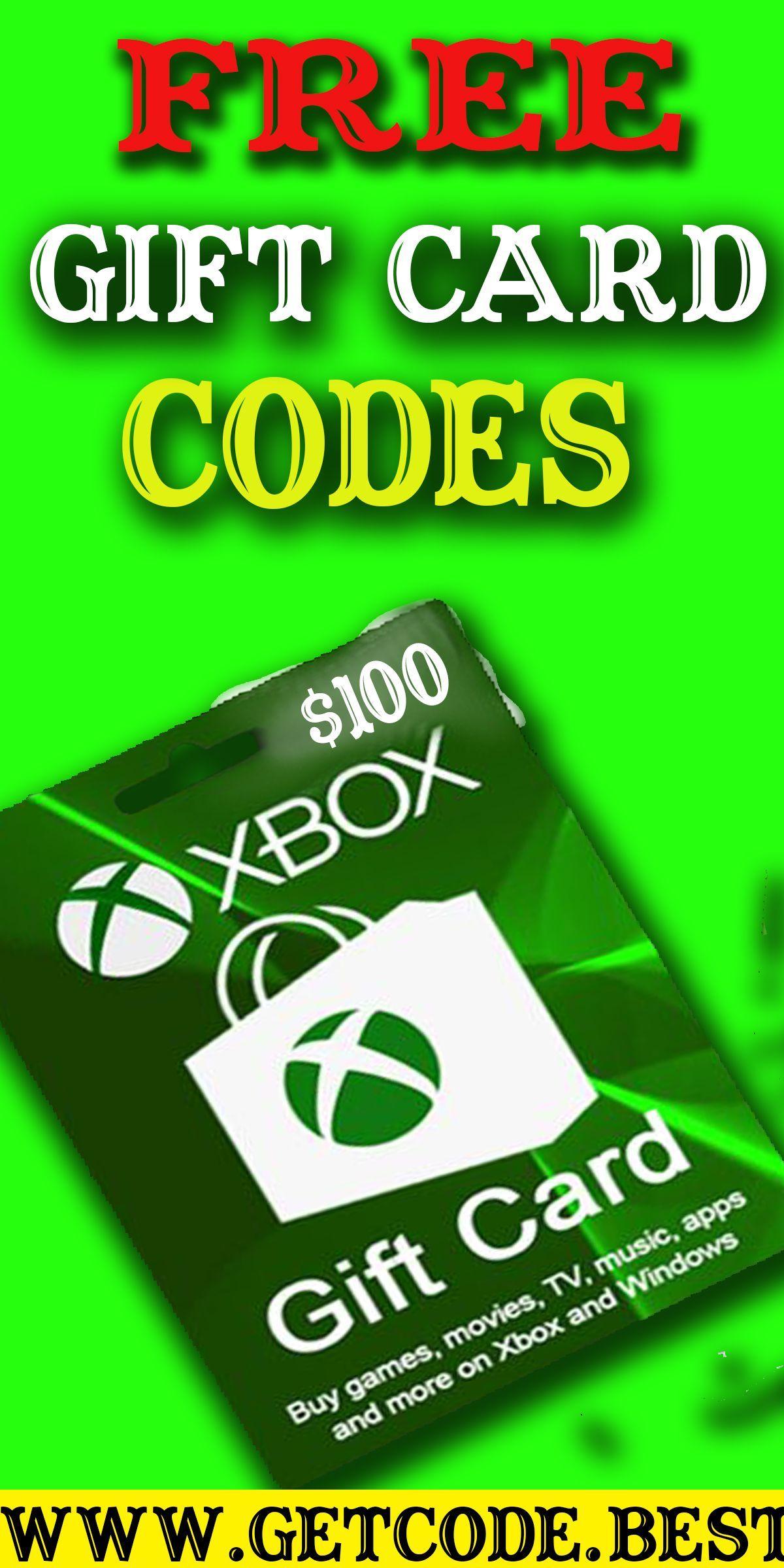 Free xbox gift card unused codes generator 2020 in 2020