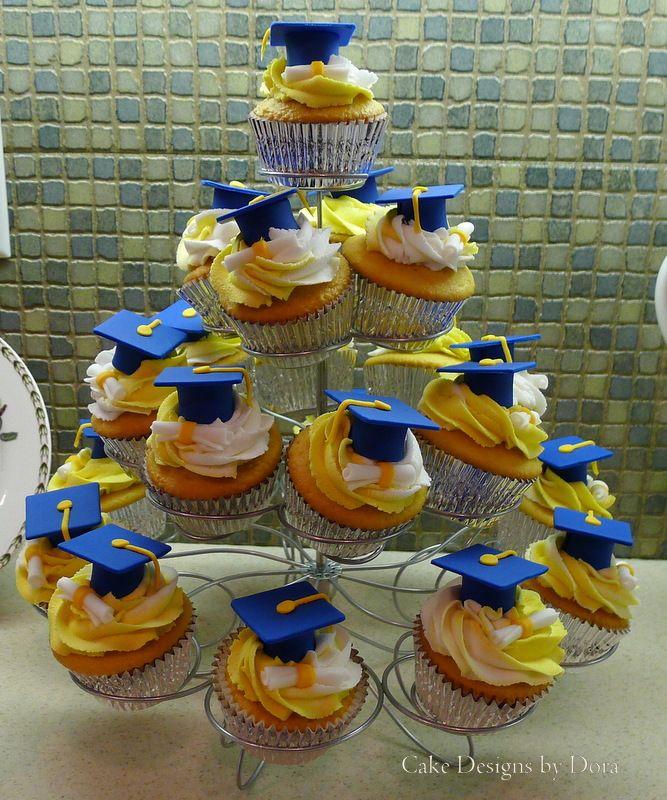 Kindergarten Graduation Cupcakes Cake Designs By Dora
