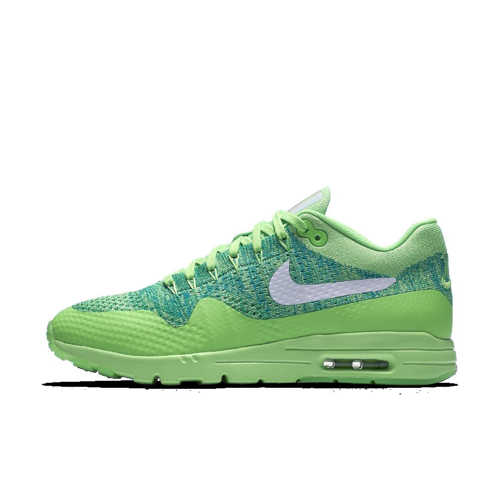 39f76df5d5c4 Nike Air Max 1 Ultra Flyknit Women s Shoe Size 6.5 (Green) - Clearance Sale