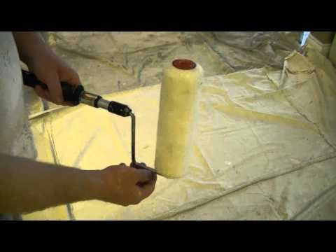 Quick Tip How To Quick Release A Roller Sleeve Youtube Paint Roller Covers Paint Remover Paint Roller