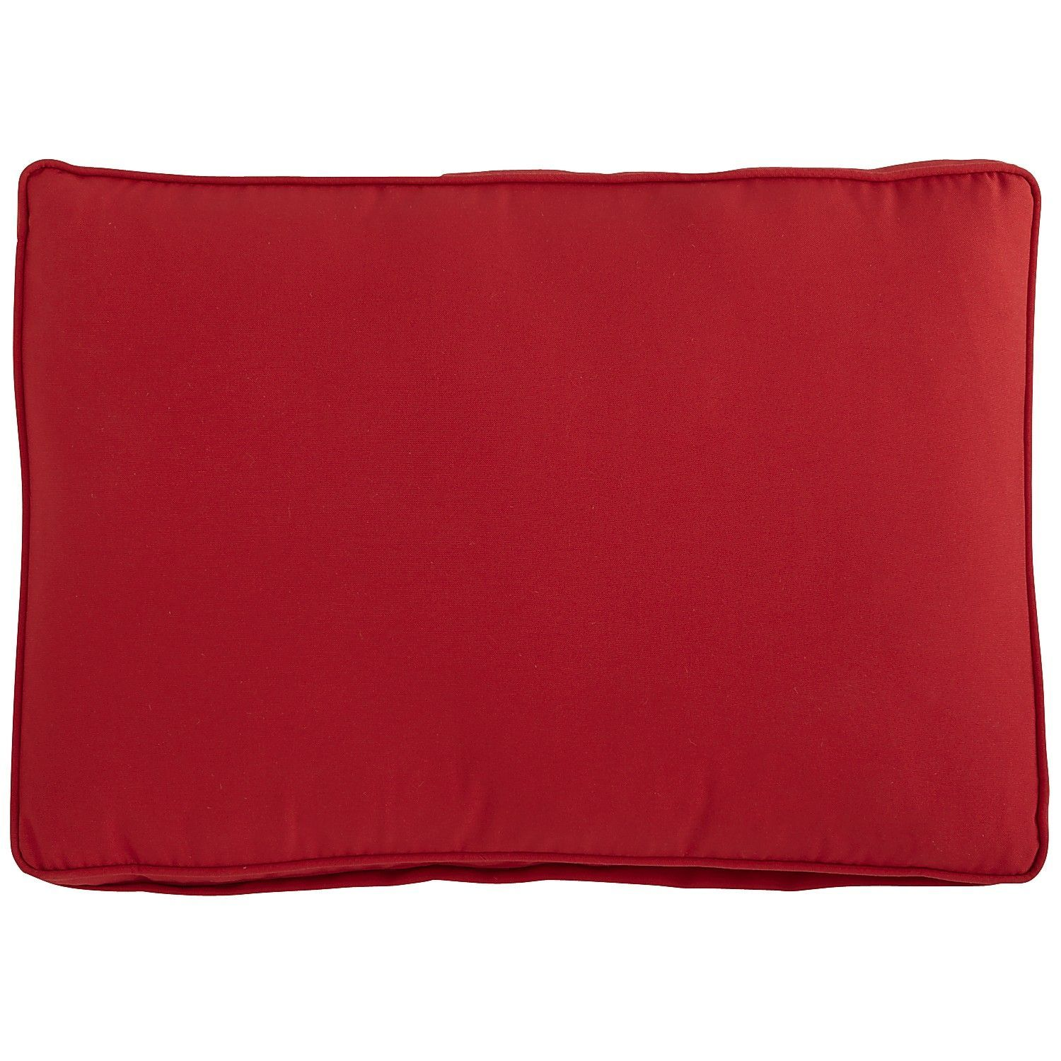 Echo Beach Back Cushion - Tomato