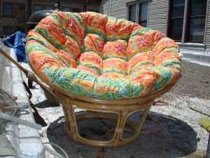 Big Bamboo Circle Chair Swivel Victoria Bc Gettin Comfy In A Gardens Furniture I Love