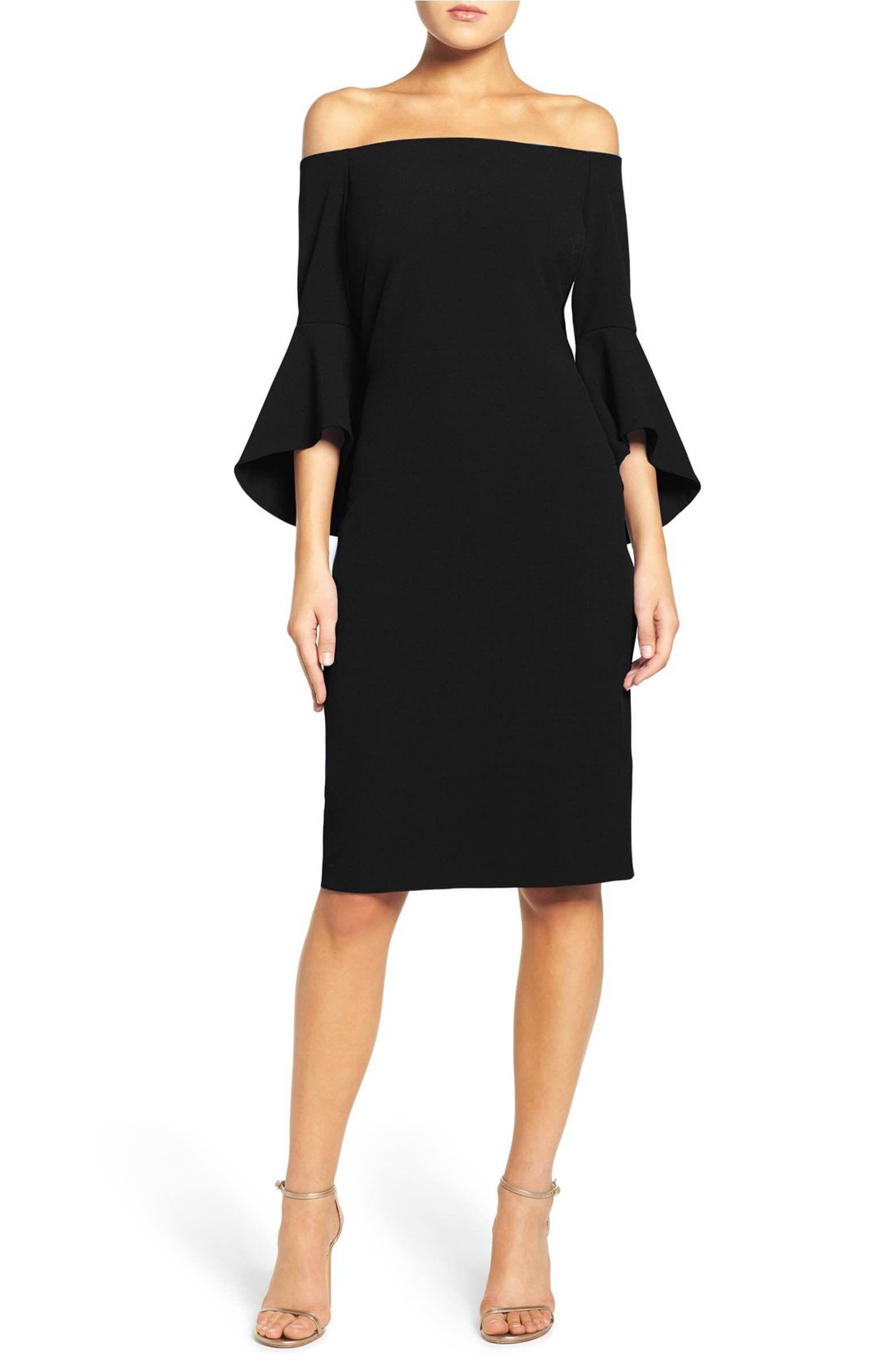Off the Shoulder Dress   Shoulder dress, Nordstrom and Shoulder