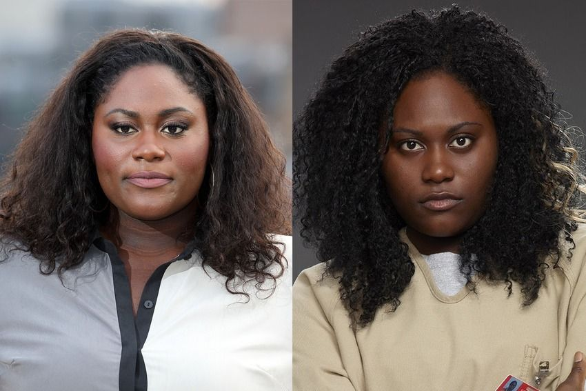 9 Orange Is The New Black Actresses In And Out Of Character Orange Is The New Black Black Actresses New Black