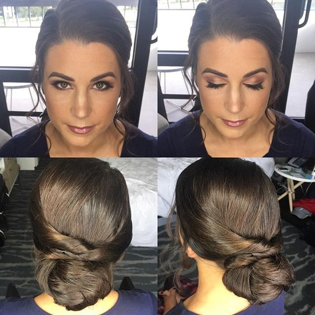 Wedding Hairstyle Hashtags: Wedding Bun, Low Bun Hairstyles