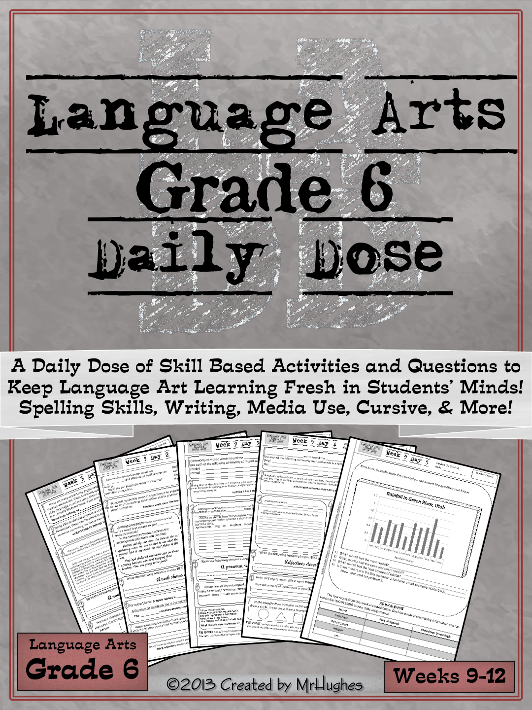 Language Arts Daily Dose Weeks 9 12