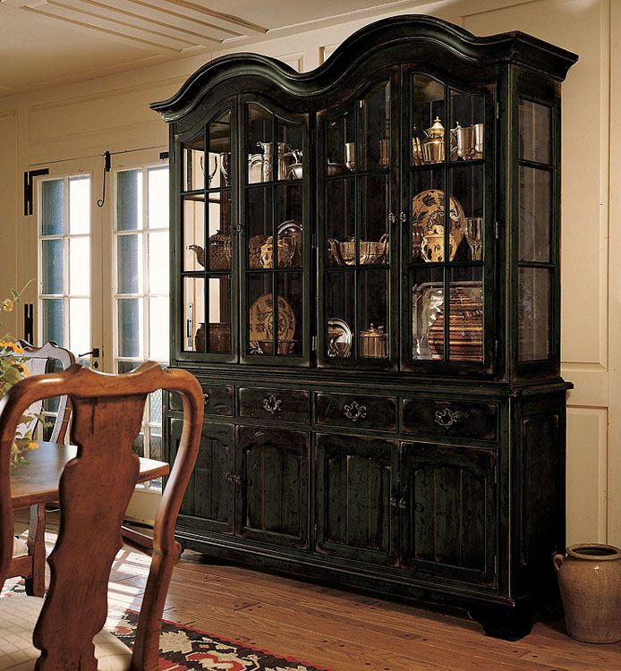 Beautiful Century Furniture Dining Room Country House China Cabinet
