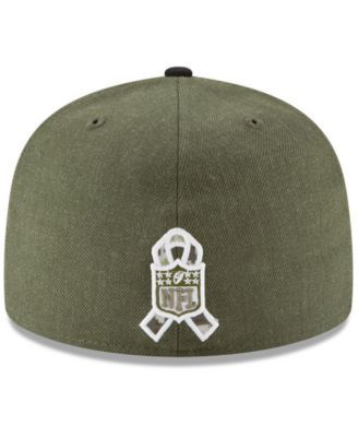 best service 0a74c 16fd4 New Era New York Jets Salute To Service 59FIFTY Fitted Cap - Green 7