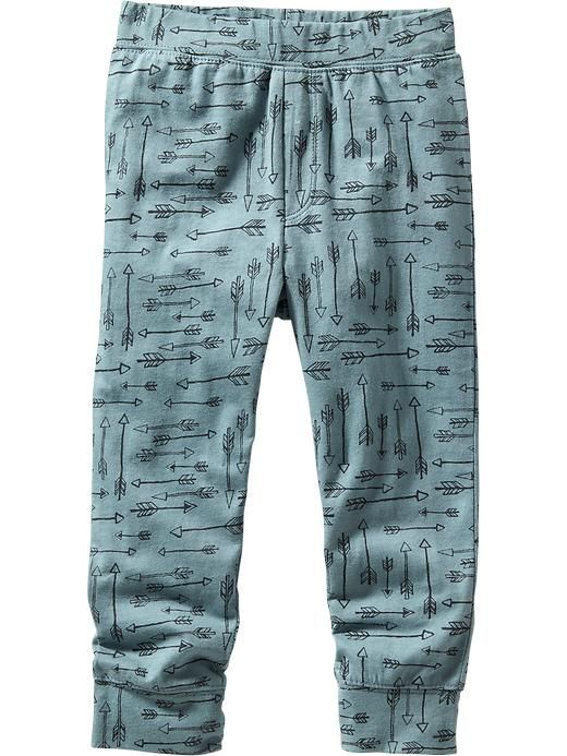 Patterned Jersey Joggers for Baby Product Image