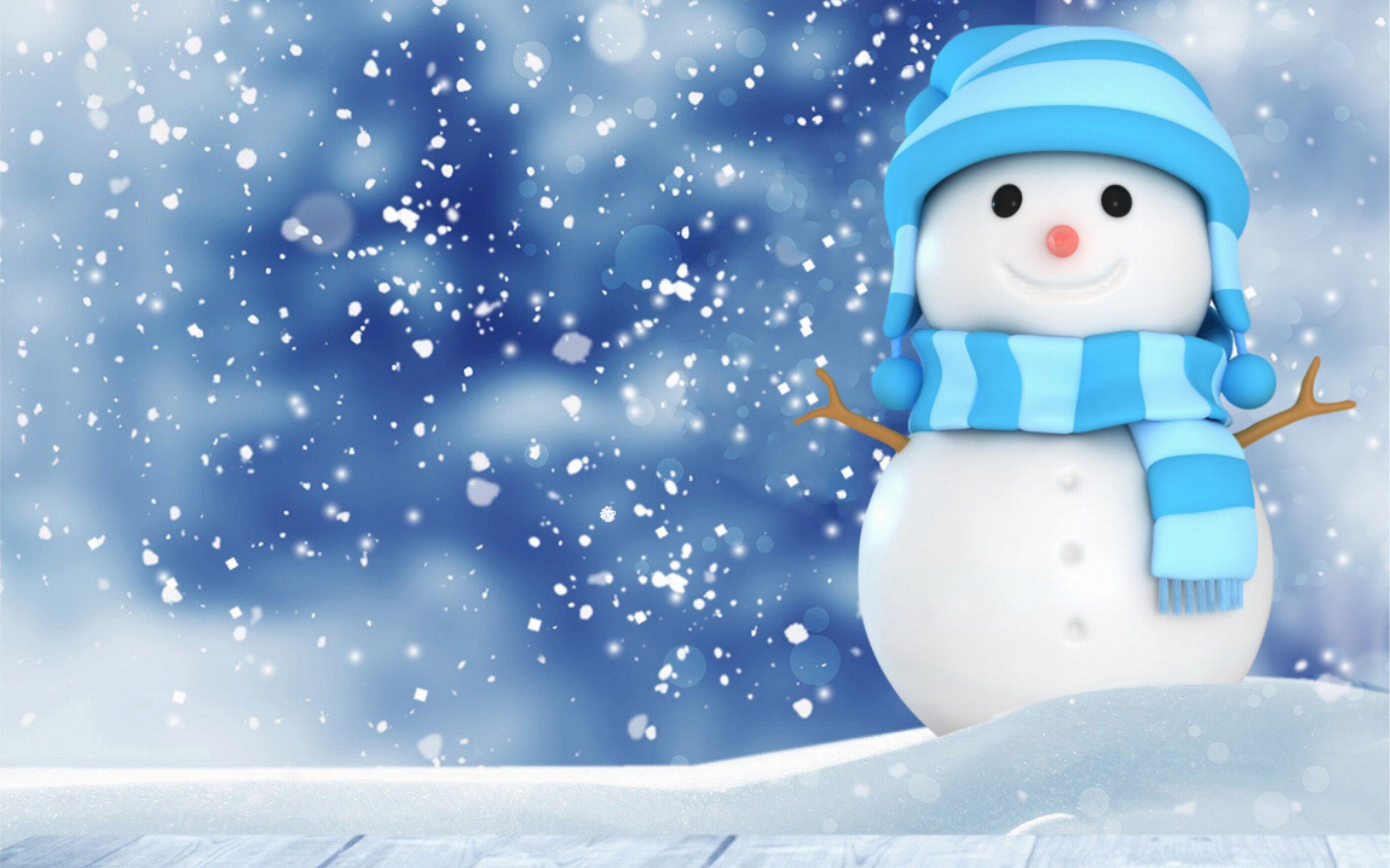 Snowman Wallpaper 25 3840 X 2400 Snowman
