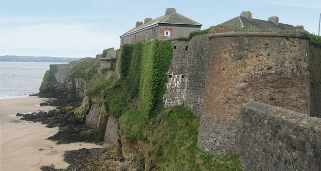 second stop - Duncannon Fort, Wexford Ireland