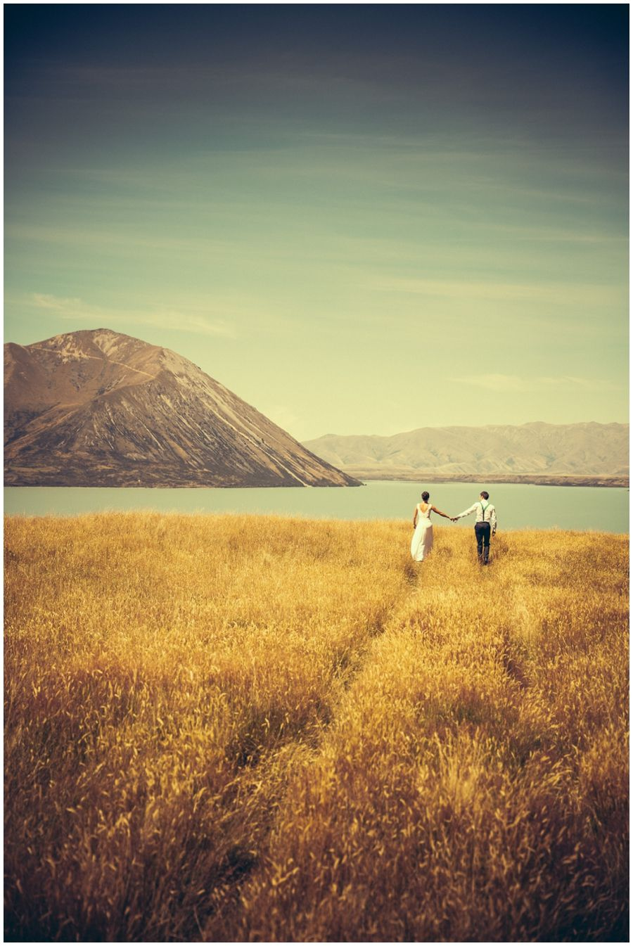 Ohau what a wedding Jim Pollard goes click lens