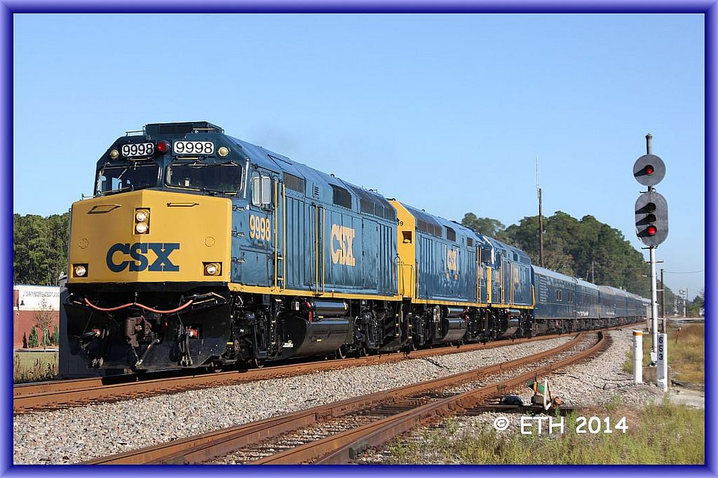 Florida OCS in 2020 Florida east coast, Railroad