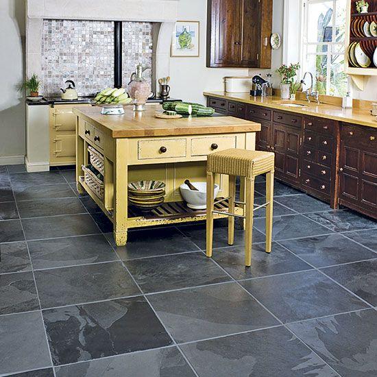 Kitchen Flooring Pattern Abu Black Kitchen Flooring Options  Home Enchanting Kitchen Floor Options 2018