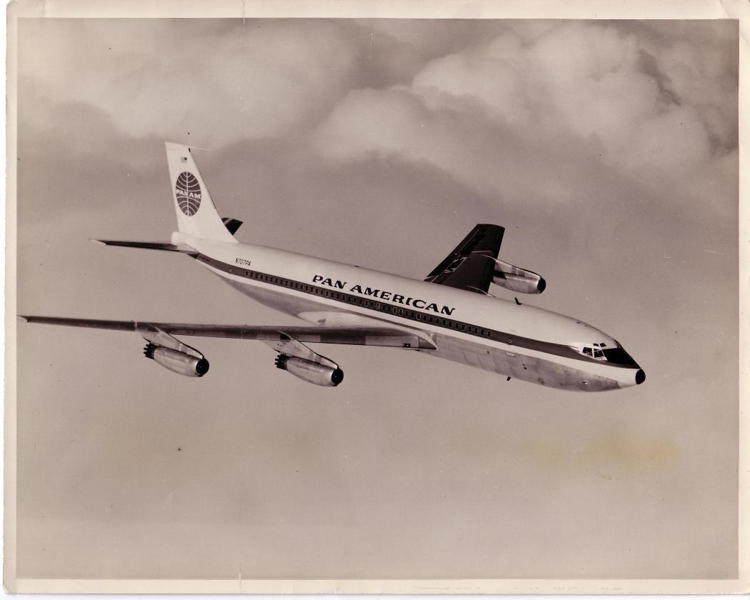 Pan American World Airways Boeing 707 121 Registration N707pa