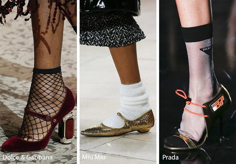 Fall Winter 2018 2019 Shoe Trends | Runway shoes