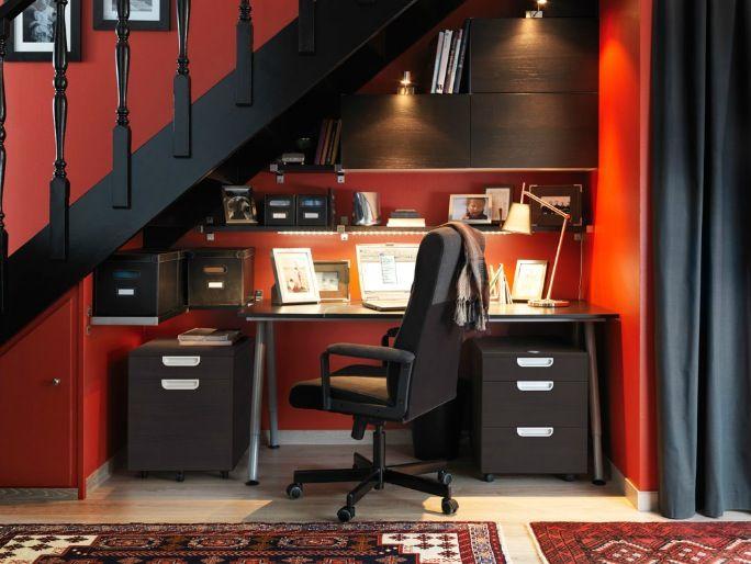 Bureau ikea avec rangements un lieu idéal pour travailler en