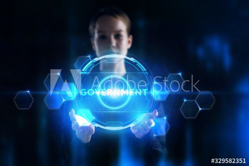Business, Technology, Internet and network concept. Young businessman working on a virtual screen of the future and sees the inscription: #Ad , #SPONSORED, #network, #concept, #Young, #Business, #Technology