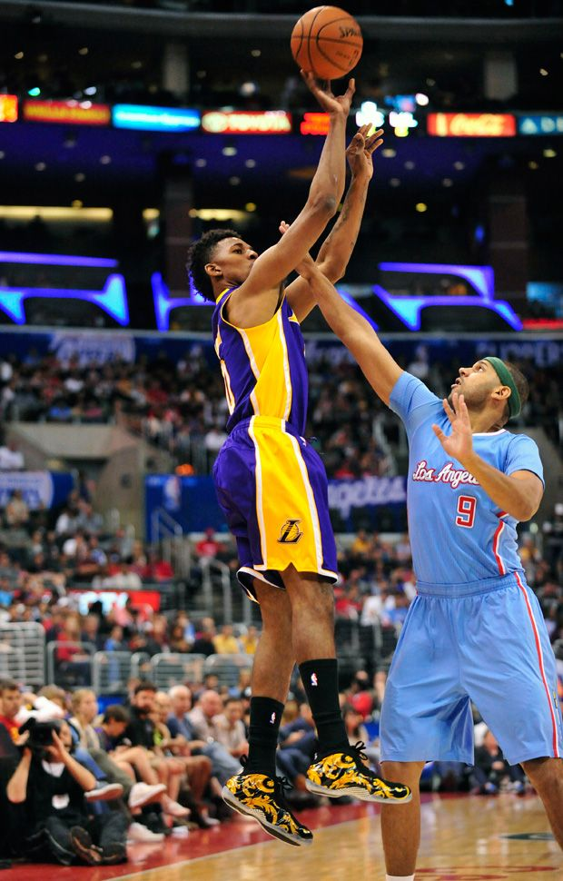 Nick Young Rocked the Supreme x Nike Air Foamposite One | Complex