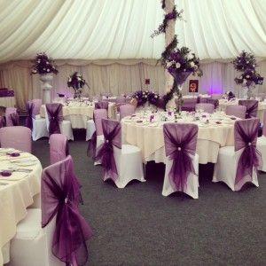 wedding ideas - chair covers | wedding decor inspiration