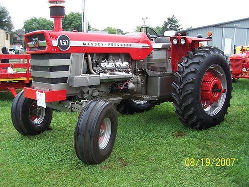 Massey Ferguson 1150 | Massey Ferguson | Ford tractors, Vintage