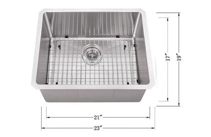 Msra2319sb Bar Sink Undermount Bar Sink Single Bowl Kitchen Sink