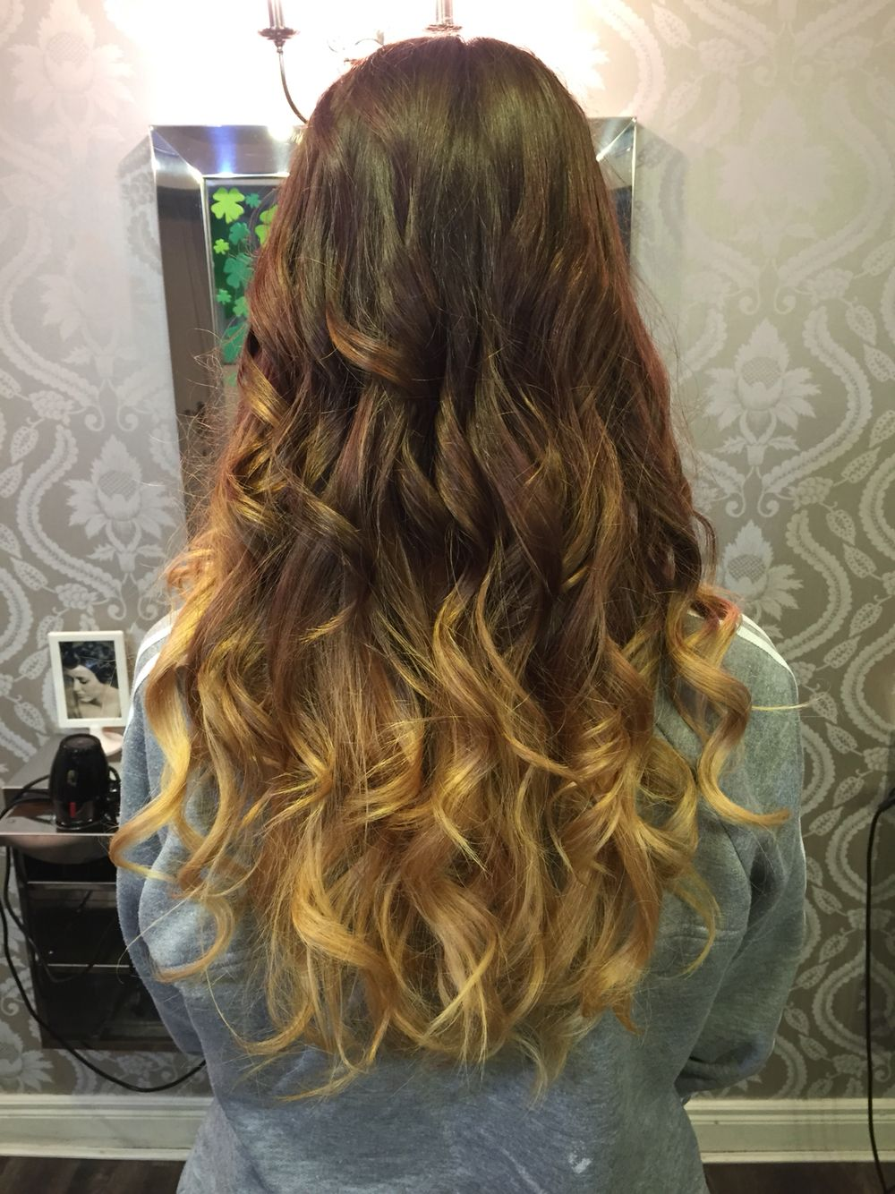Ballayage Blond intérieur natural brown to blonde ombre ballayage | hairi <3 | pinterest