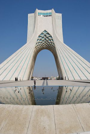 Azadi Tower Teheran.