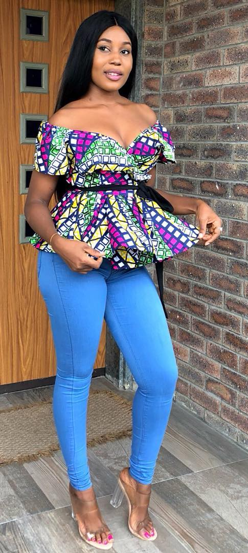 African Print Top African Fashion Ankara Kitenge African Women Dresses African Prints Afri African Print Fashion Dresses African Fashion African Clothing