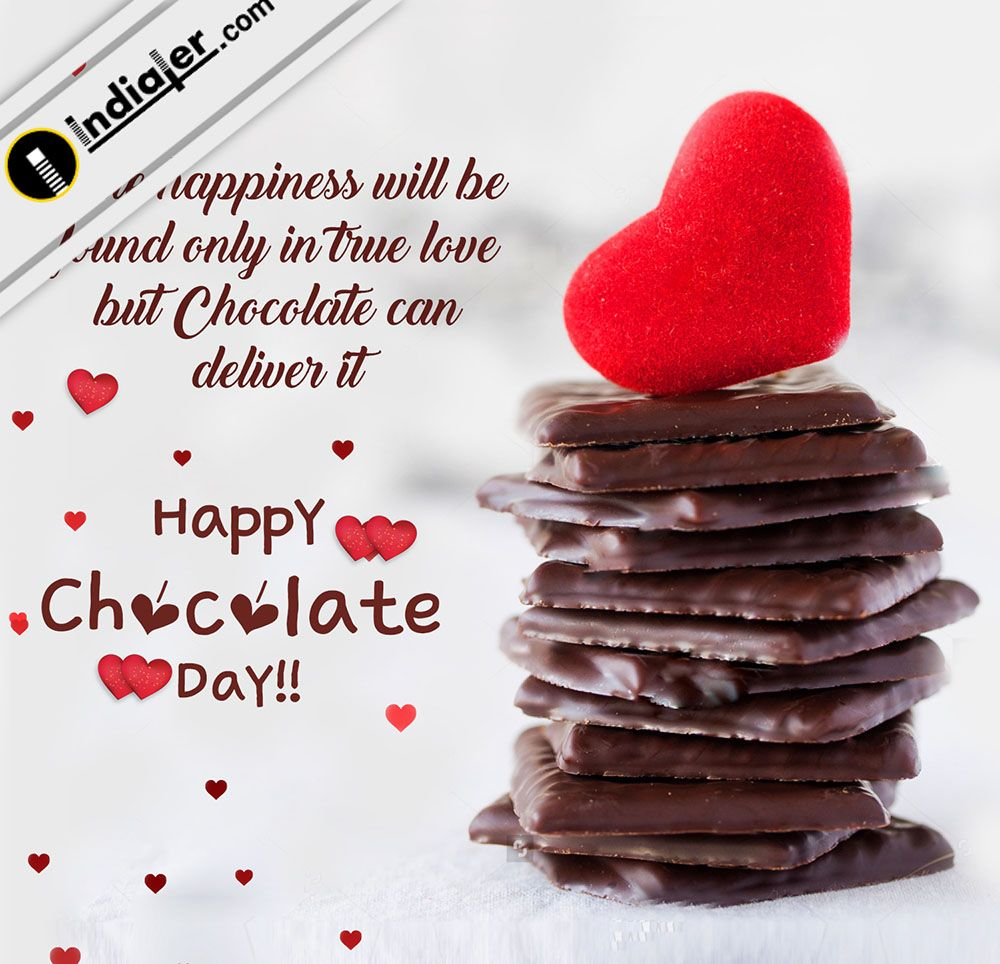 Chocolate Day Cards With Beautiful Message Wallpaper Message Wallpaper Chocolate Day Chocolate Day Wallpaper Happy romantic chocolate day images for
