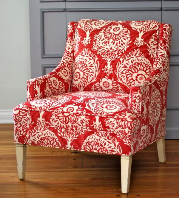 The Craft Room Redesign Project: The Recovered Chair!   Prudent Baby ...