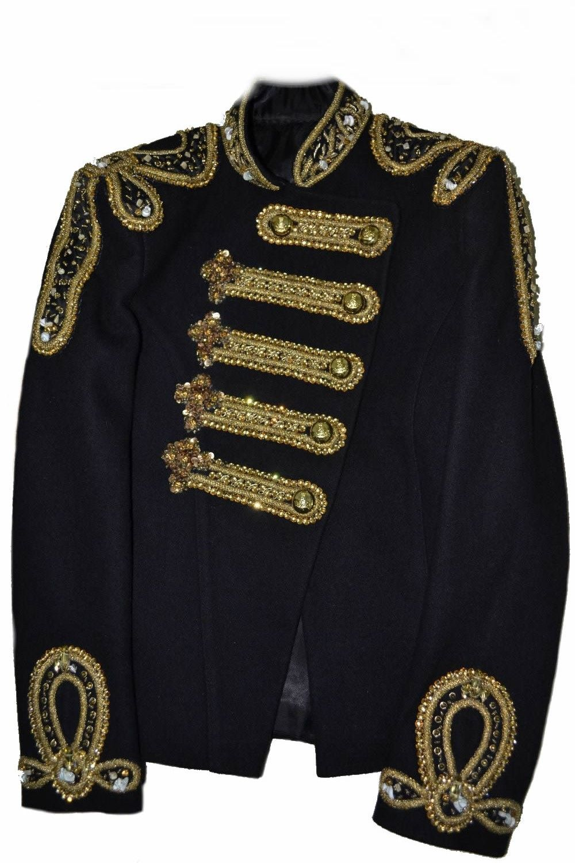 d158c4ce Michael Jackson Women Balmain Military Wedding Jacket | Clothing ...