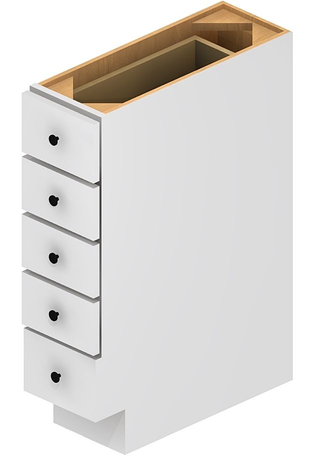 Superieur Life Design Home   Base Spice Drawer 6 Inch Shaker White BSDC6, $189.00  (http
