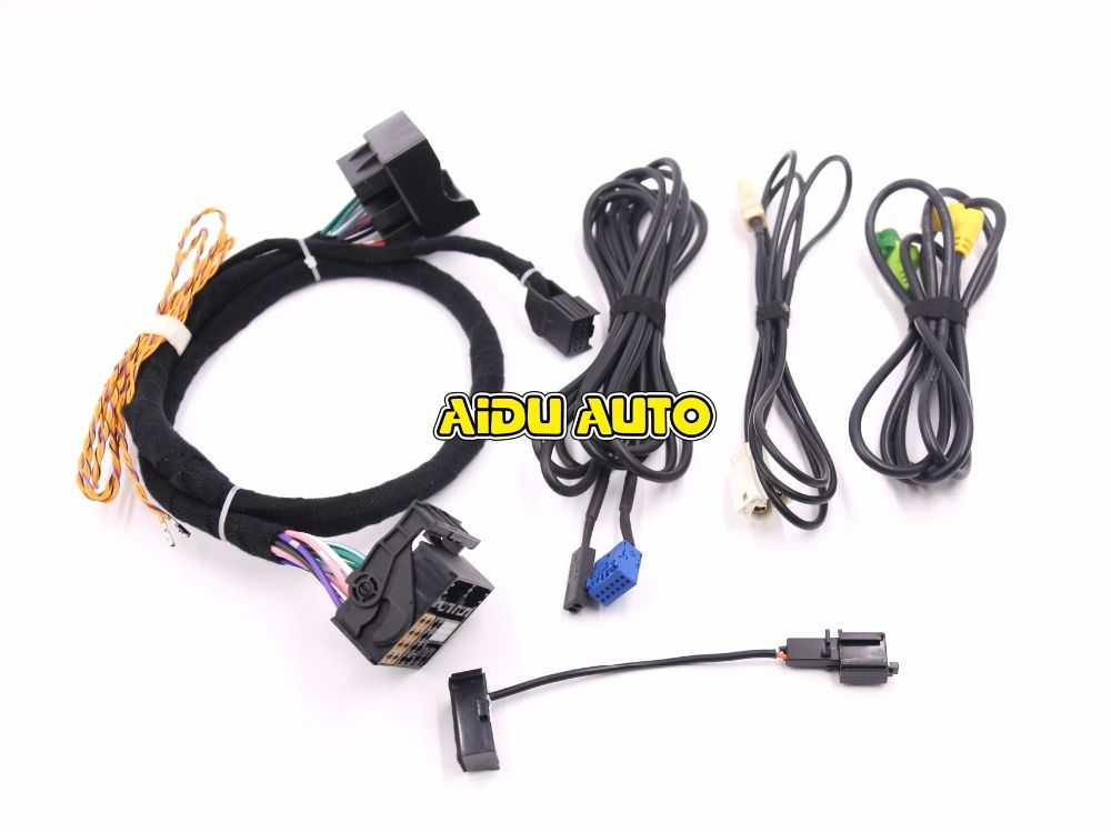 MIB STD2 ZR NAV Discover Pro Radio Adapter Cable Wire harness For ...
