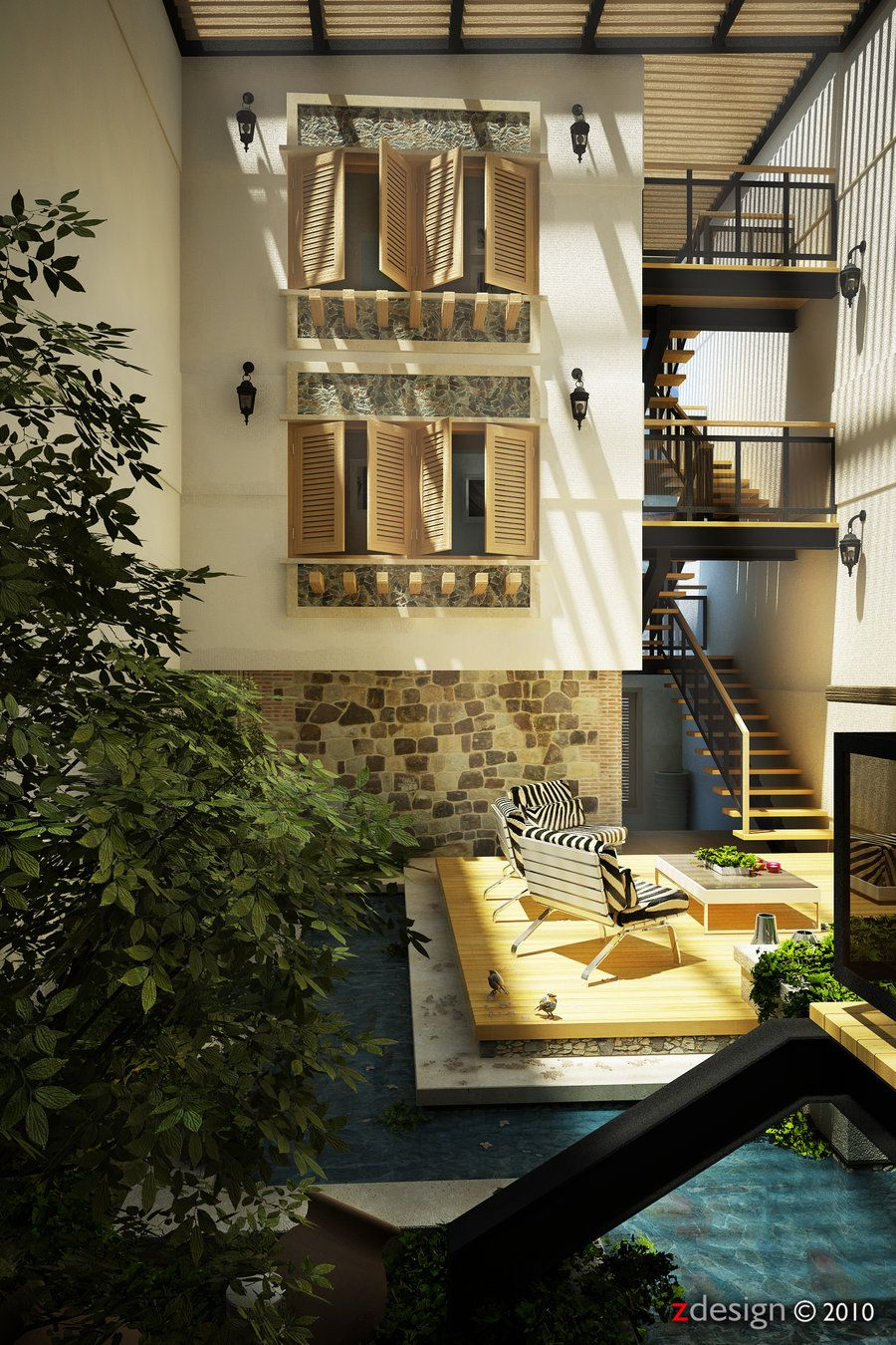 interior_55c_Central Courtyard by ~Zorrodesign on deviantART