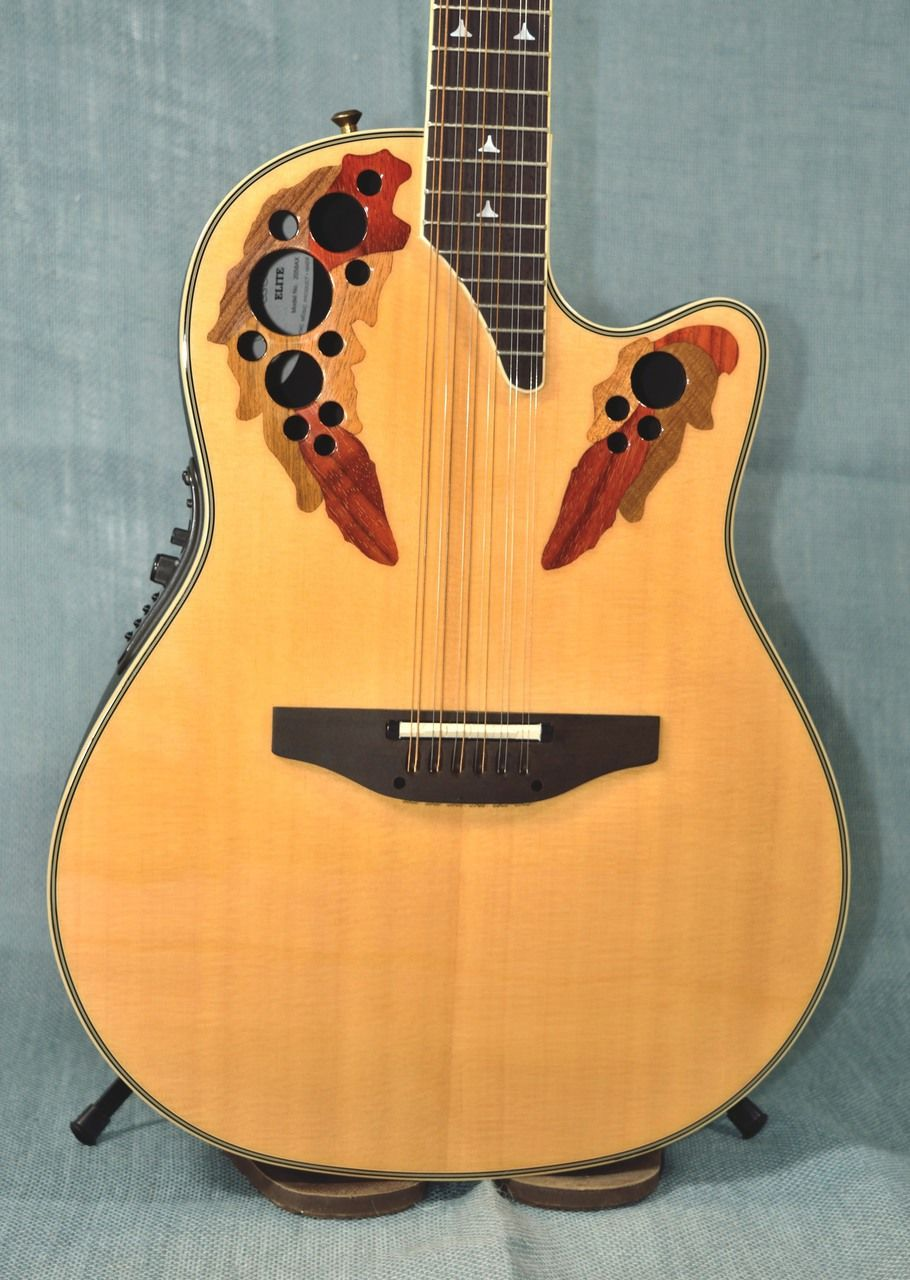 Ovation CC245 Celebrity 12-String Acoustic-Electric Guitar ...