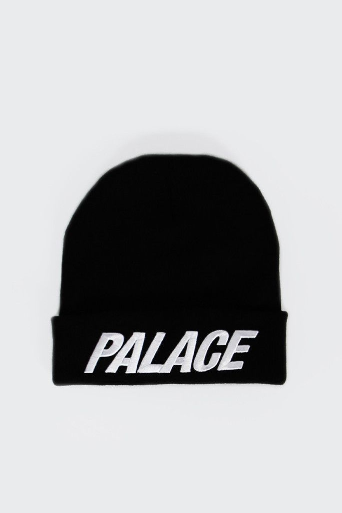 GOOD AS GOLD | Online Clothing Store | Mens & Womens Fashion | Streetwear | NZ — Palace Beanie, black