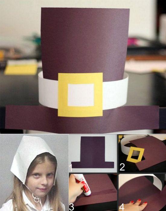 sombreros de peregrinos para el dia de accion de gracias | Sombrero ...