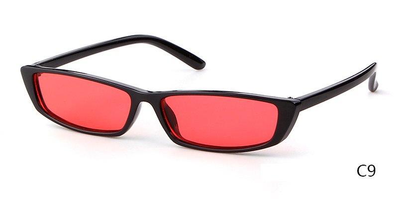 b6299a87a510 Skinny Cat-Eye Sunglasses | Products | Rectangle sunglasses, Cat eye ...