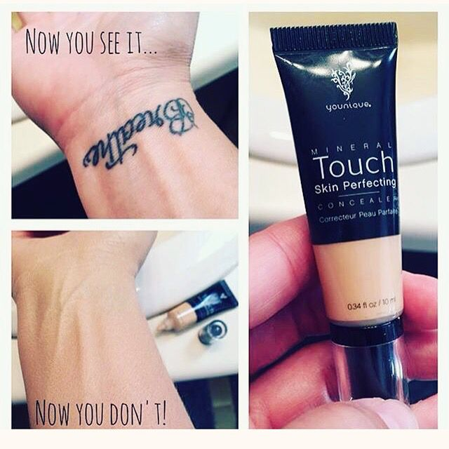 If Our Concealer Can Cover Up Tattoos Just Think What Blemishes Dark Circles And Under