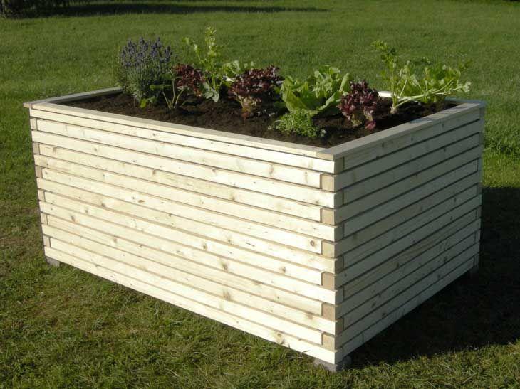 hochbeet aus holz home outdoor garden and carport. Black Bedroom Furniture Sets. Home Design Ideas