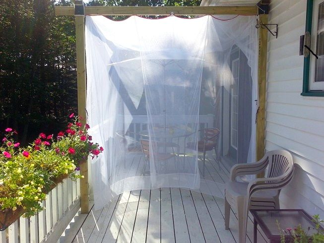 Screen Curtains Porch