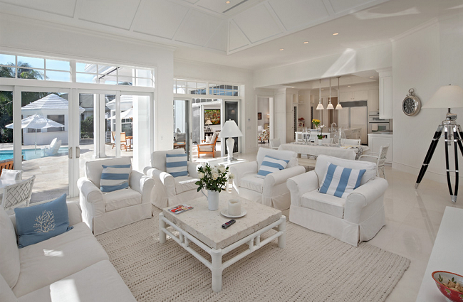 love white coastal beach house florida blue white png 650 425