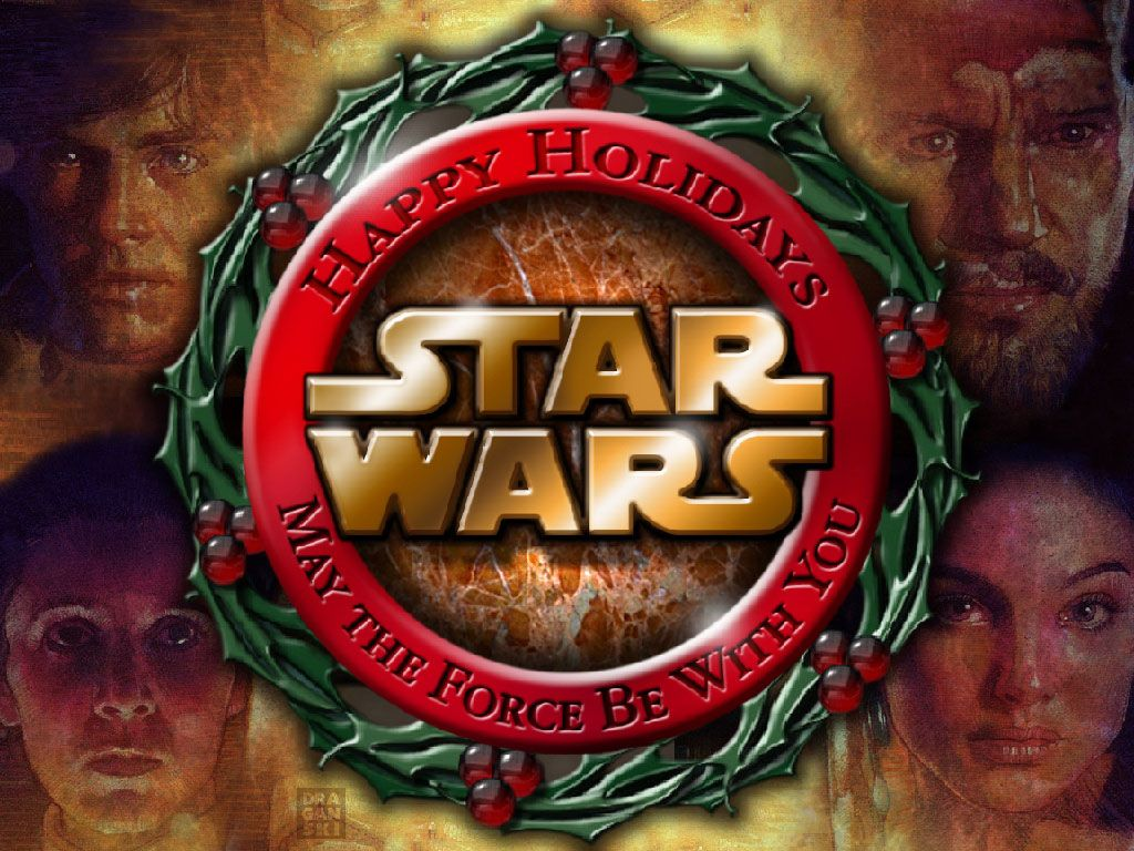 Star Wars Wallpaper Star Wars Christmas Star Wars Christmas