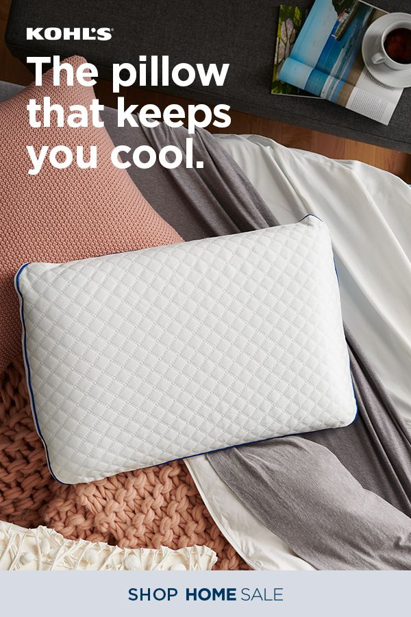 Serta Staycool Gel Memory Foam Pillow Foam Pillows Pillows