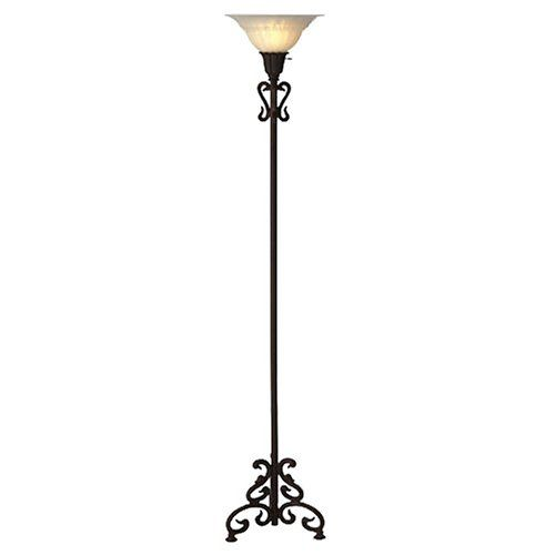 8. Iron Scroll Floor Lamp - 8 Pretty Lamps for Your Living Room ...